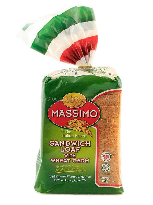 Bread Massimo Wheat Germ (400g)