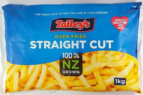 NZ Straight Cut Fries ( 1kg )