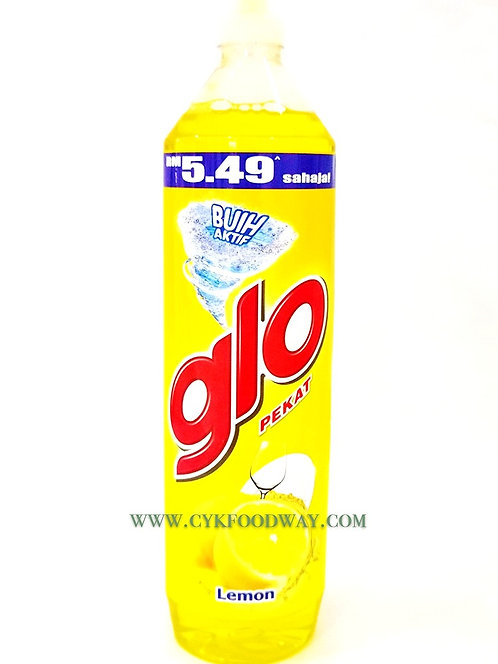 Glo Lemon Concentrated Dishwashing Liquid ( 900 ml )