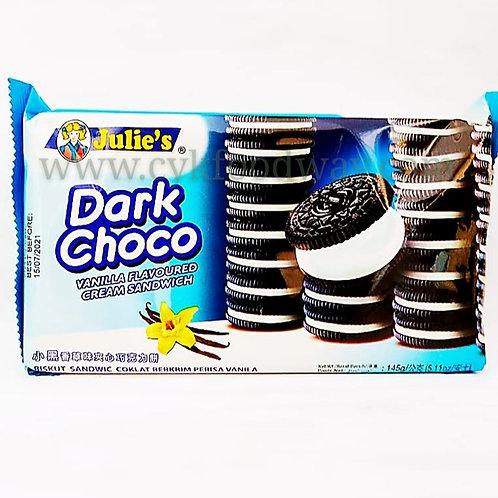 Julie's Dark Choco Sandwich ( 125 g )