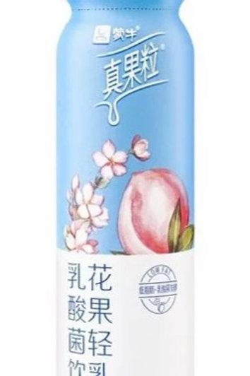 蒙牛真果粒 樱花风味+白桃果粒
