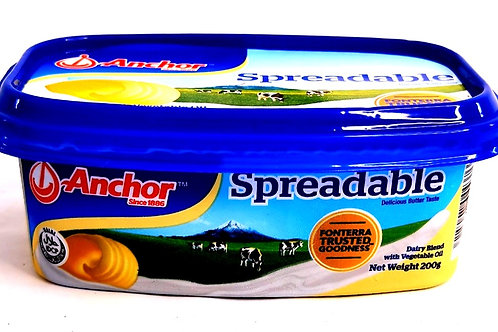 Anchor Butter Spreadable ( 200g )