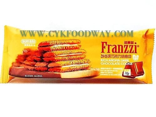 Franzzi - Rich Aroma Dark Chocolate Cookie ( 70 g )