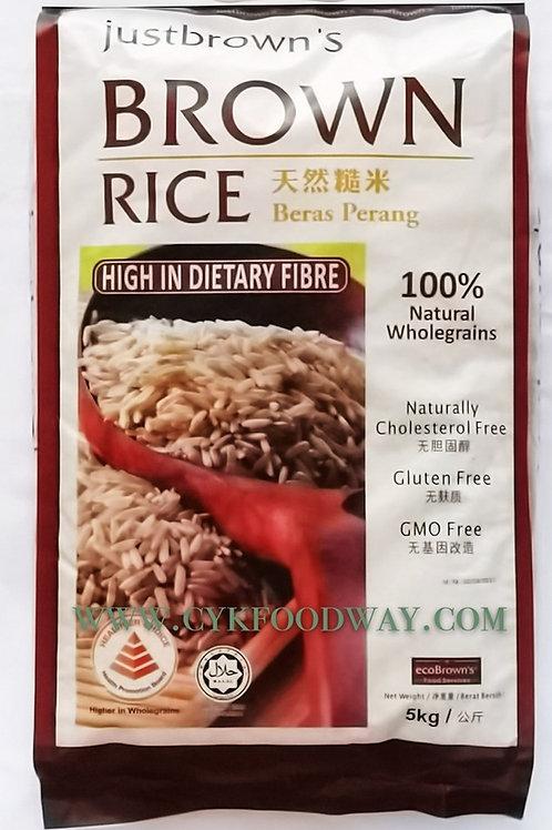 Rice Brown Ecobrown ( 5kg )