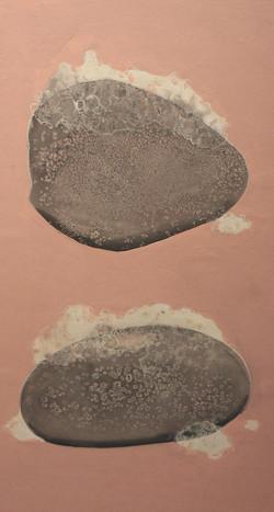 piedras con espuma