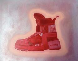 Overdesigned shoe
