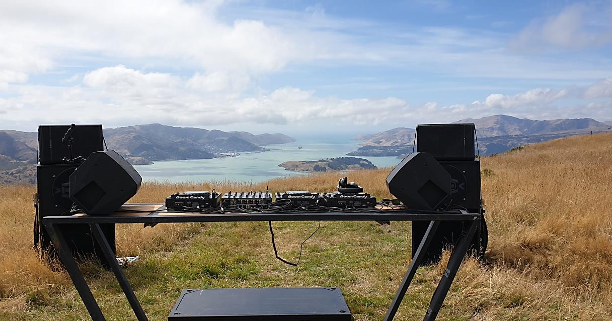 Custom DJ mixing table