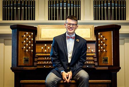 Jordan Prescott, Organ at Peabody Conservatory