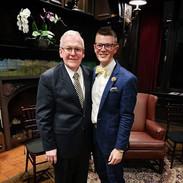Jordan with Dr. John Walker