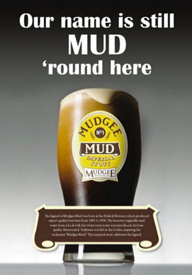 Mudgee Mud Poster