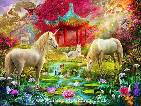 Unicorn Family 40*30