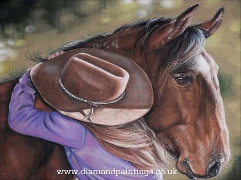 Horse Love 40*30