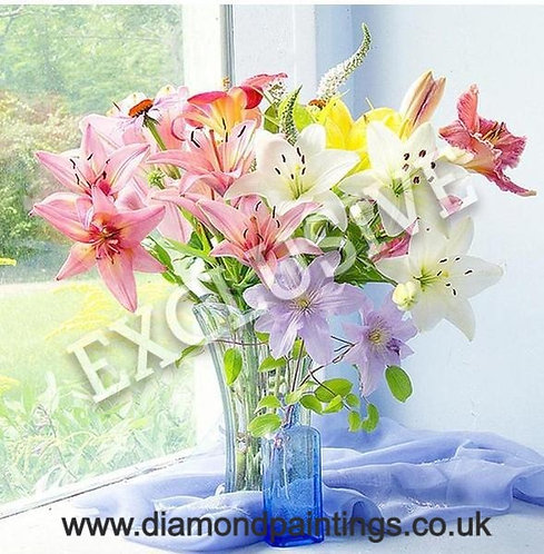 Spring Flowers 40x40