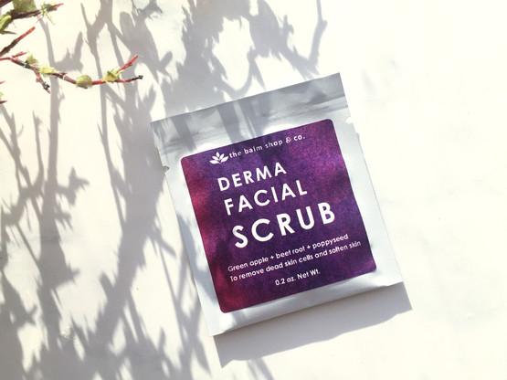 Derma Facial Scrub