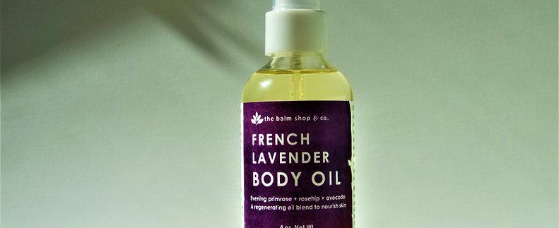 FRENCH LAVENDER BODY OIL