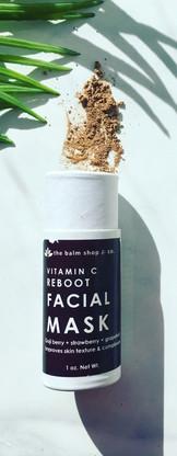 Vitamin C Reboot Facial Mask