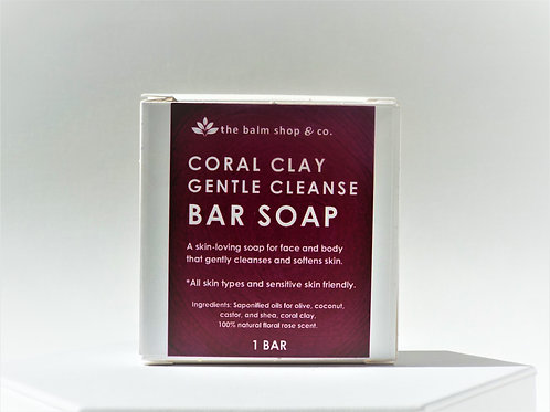 CORAL CLAY GENTLE CLEANSE BAR