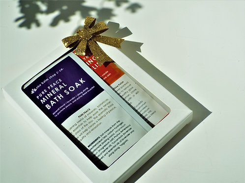 PURE PEACE BATH AND BODY GIFT SET