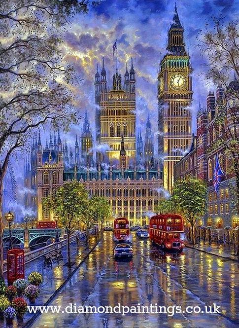 Big Ben, Westminster 30x40 cm
