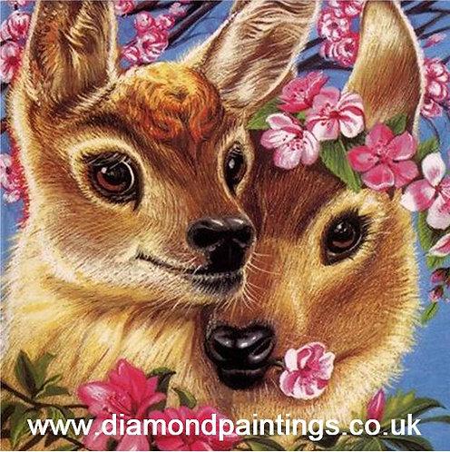 Loving Deer  20*20