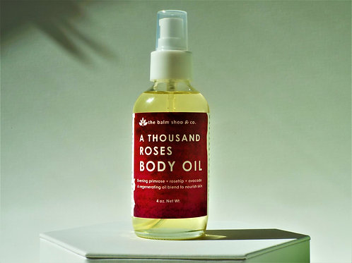 A THOUSAND ROSES BODY OIL