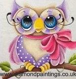 Cute Owl  20*20