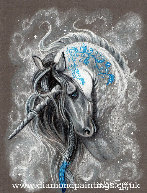 Chalkboard Unicorn 30*40