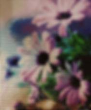 Diamond Painting Lilac Flowers