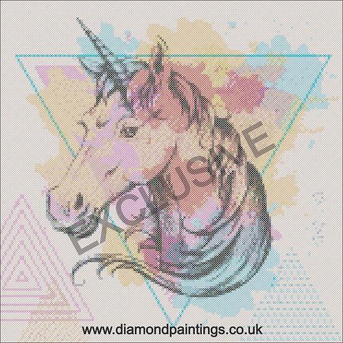 Abstract Unicorn  40*40