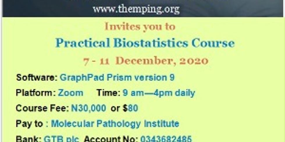 A Practical Biostatistics Course