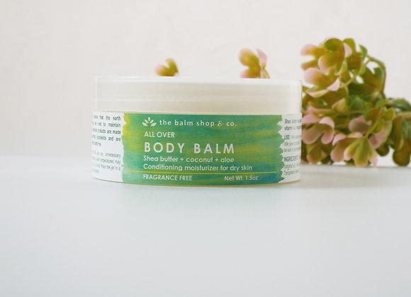 Body Balm (fragrance free)