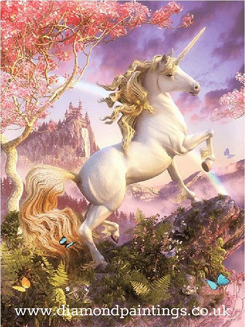 Rearing Unicorn 30*40