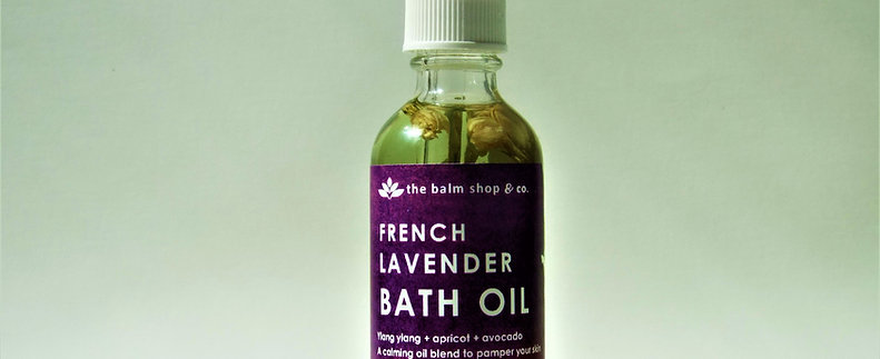 FRENCH LAVENDER BATH OIL