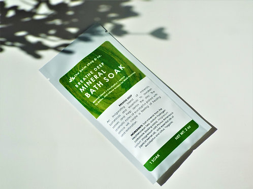 BREATHE DEEP MINERAL BATH SOAK