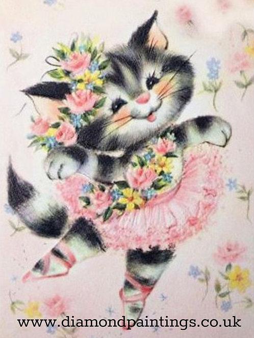 Ballet Kitten 30*40