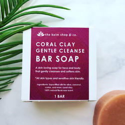 Coral Clay Gentle Cleanse Bar Soap