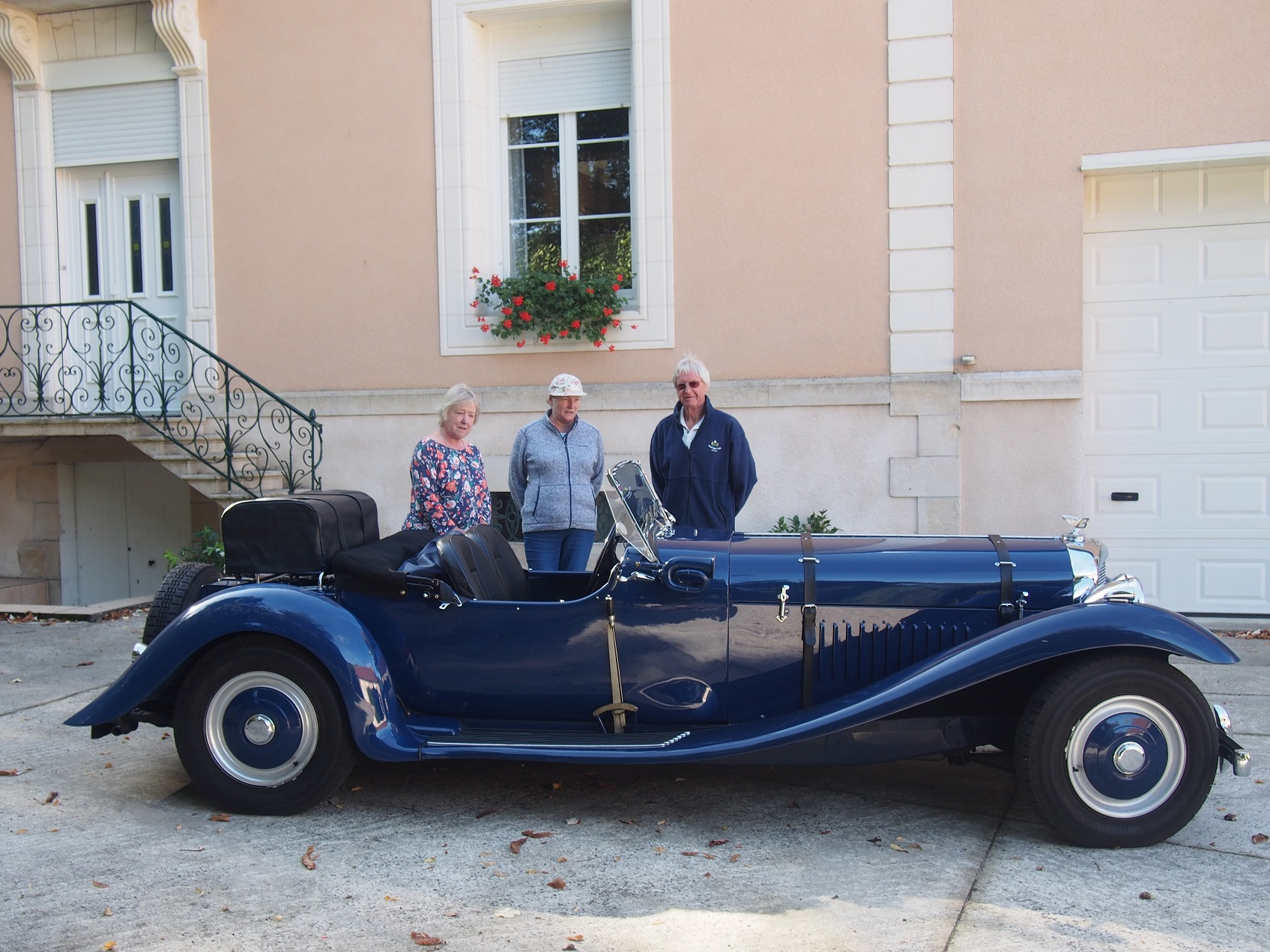 Nigel and Jacky Angus with Bentley