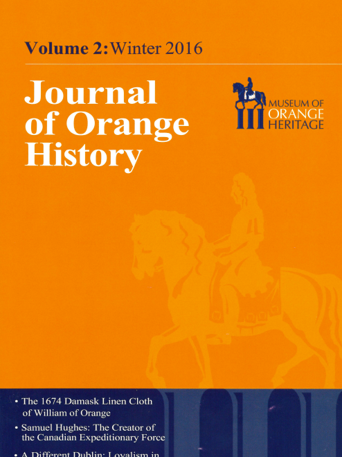Journal of Orange History volume 2, 3 & 4