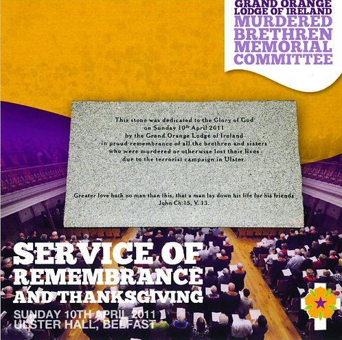 Service of Remembrance and Thanksgiving