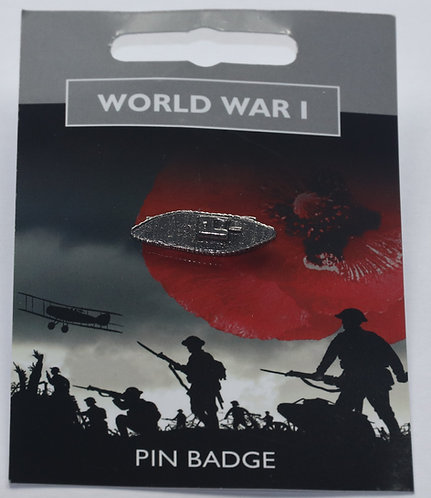 World War 1 Tank Pin Badge