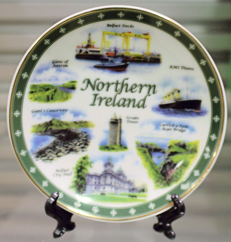 10cm Northern Ireland Plate