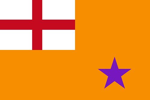 Orange Standard Flag