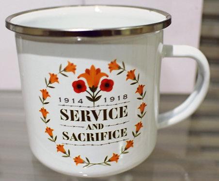 Service and Sacrifice Mug