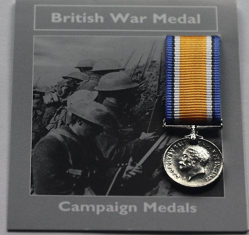 Miniature British War Medal