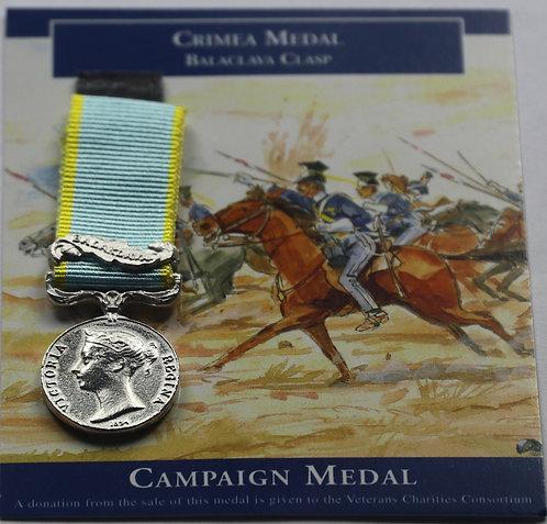 Miniature Crimea Medal