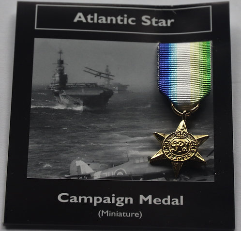 Miniature Atlantic Medal