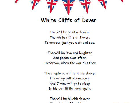 Sing Along: The White Cliffs of Dover