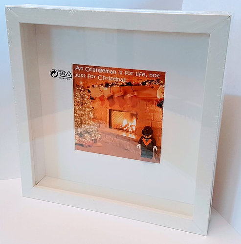 Framed Print - An Orangeman is for life, not just for Christmas