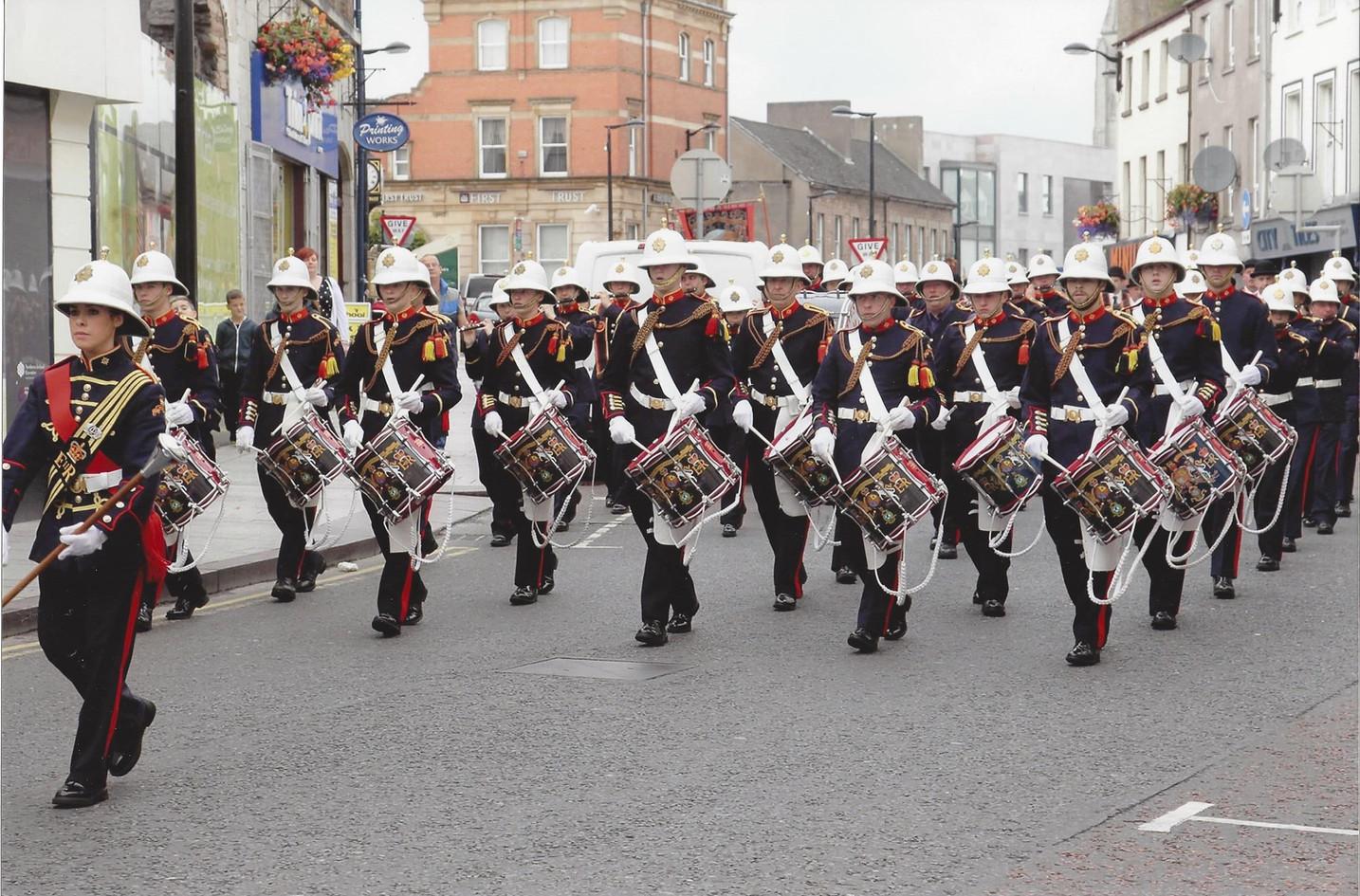 SAD297 OPB on parade in Armagh 2014.jpg
