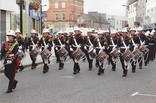 SAD297 OPB on parade in Armagh 2014.jpg
